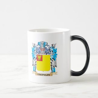 Yakovlev Coat of Arms - Family Crest 11 Oz Magic Heat Color-Changing Coffee Mug
