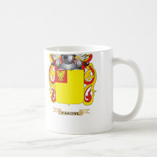 Yakovlev Family Crest (Coat of Arms) Classic White Coffee Mug