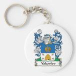 Yakovlev Family Crest Key Chain