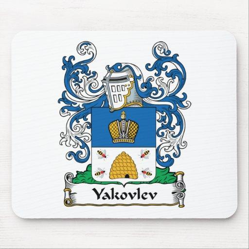 Yakovlev Family Crest Mouse Pad