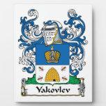 Yakovlev Family Crest Plaque