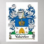 Yakovlev Family Crest Poster
