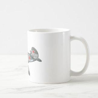 yakovlev yak-3 basic white mug