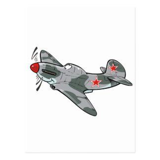 yakovlev yak-3 post card