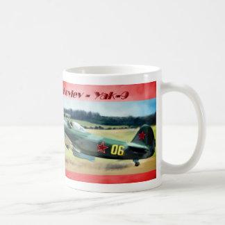 Yakovlev - Yak 9 Classic White Coffee Mug