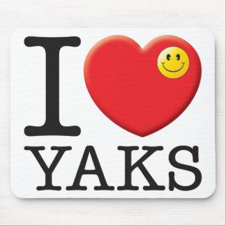 Yaks Love Mouse Pad
