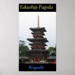 Yakushiji-Pagoda Poster