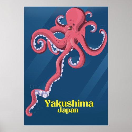 Yakushima Japan Travel poster