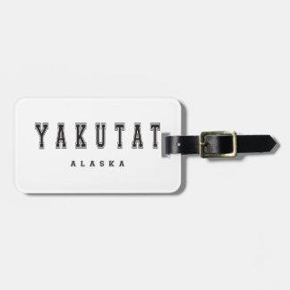 Yakutat Alaska Bag Tag