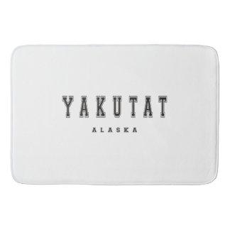 Yakutat Alaska Bathroom Mat