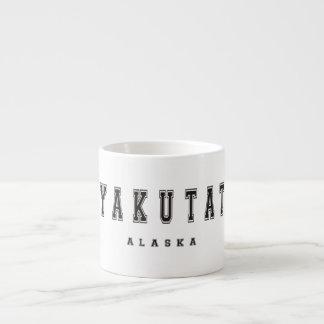 Yakutat Alaska Espresso Cup
