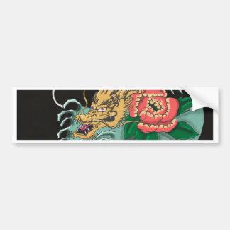 Yakuza Tattoo Bumper Sticker