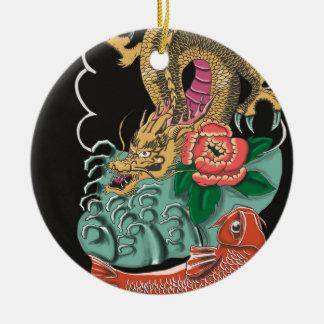 Yakuza Tattoo Ceramic Ornament