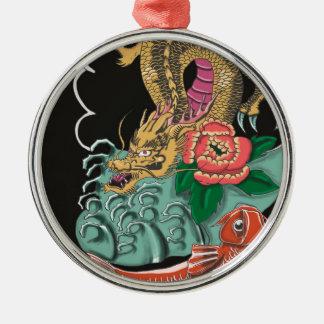 Yakuza Tattoo Metal Ornament