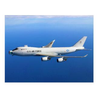 YAL-1A Airborne Laser Aircraft in flight Postcard