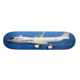 YAL-1A Airborne Laser Aircraft in flight Skateboard Deck