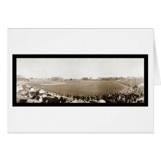 Yale contra la foto 1904 del béisbol de Princeton Tarjeta De Felicitación