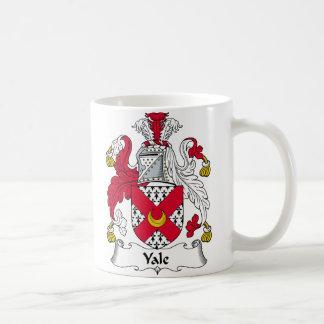 Yale Family Crest Classic White Coffee Mug
