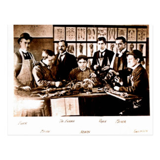 Yale Medical Anatomy Class Postcard