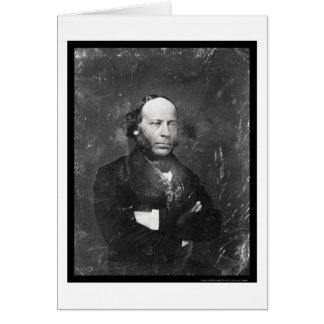Yale Professor Edward Phelps Daguerreotype 1854 Card