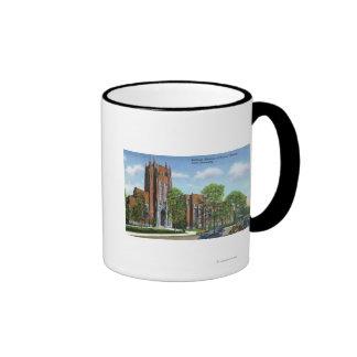 Yale U Peabody Museum of Natural History Ringer Coffee Mug