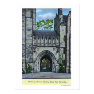 Yale University Gateway Postcard