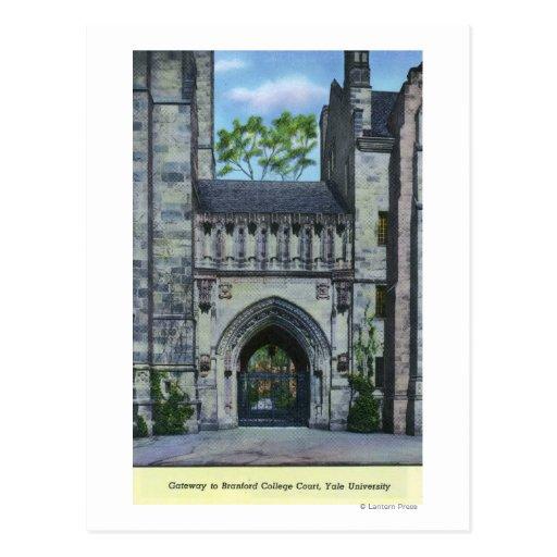 Yale University Gateway Postcard
