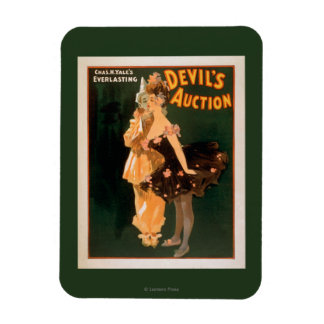 Yale's Everlasting Devil's Auction Play Rectangular Photo Magnet