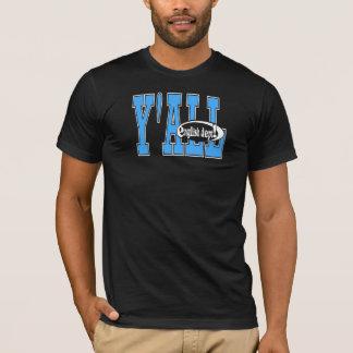 Y'ALL Blu-Black T-Shirt
