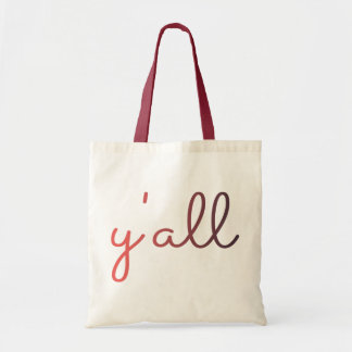 Y'all Budget Tote