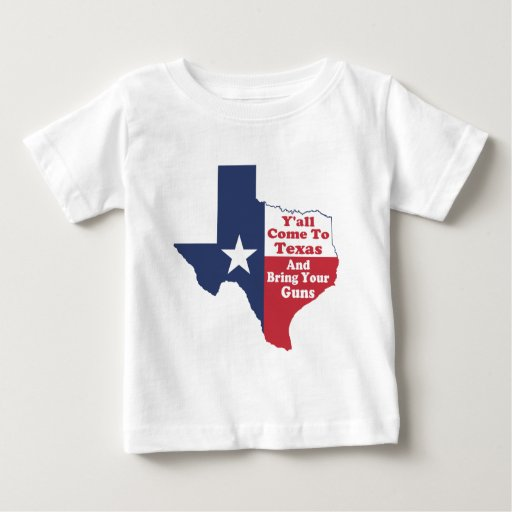 Y'all Come to Texas Baby T-Shirt