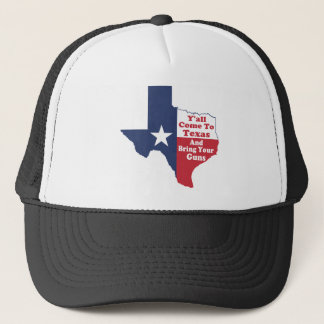 Y'all Come to Texas Trucker Hat