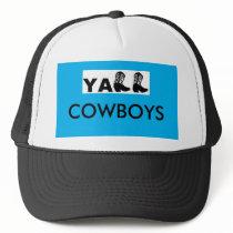 YA'LL COWBOYS TRUCKER HAT