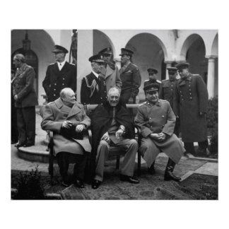 Yalta Conference Poster
