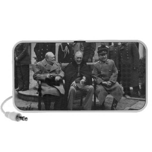 Yalta Conference Roosevelt Stalin Churchill 1945 PC Speakers