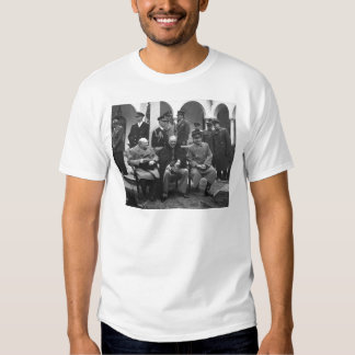 Yalta Conference Roosevelt Stalin Churchill 1945 T Shirt