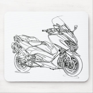 Yam TMax 2017 Mouse Pad