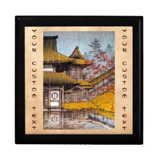 Yama Temple Sendai Hasu Kawase masterpiece Keepsake Box