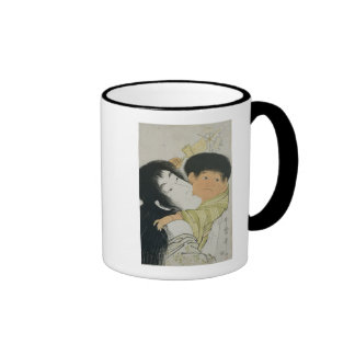 Yama-Uba y Kintoki Tazas De Café