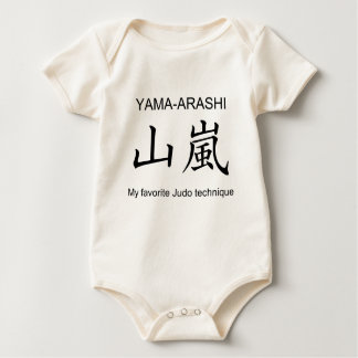 YAMAARASHI-My favorite Judo technique- Baby Bodysuit