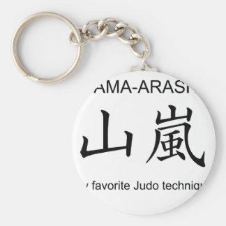 YAMAARASHI-My favorite Judo technique- Keychain