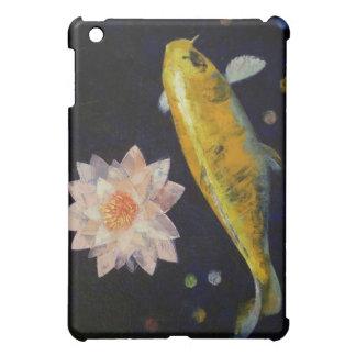 Yamabuki Ogon Koi iPad Case