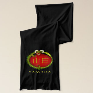 Yamada Monogram Dragon Scarf