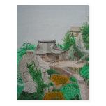 Yamadera, Tohoku Postcard