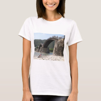 Yamaguchi prefecture. Brocade band bridge of a T-Shirt