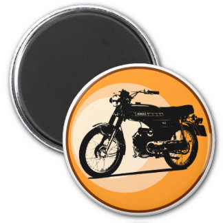 Yamaha FS1E 'FIZZY' Classic moped Refrigerator Magnets