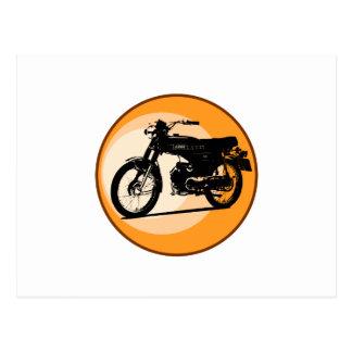 Yamaha FS1E 'FIZZY' Classic moped Postcard