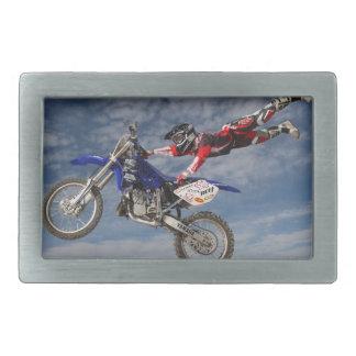 Yamaha supercross rectangular belt buckle