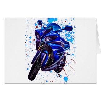 Yamaha YZF R1 Art Print Card