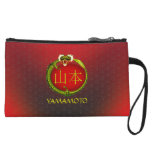 Yamamoto Monogram Dragon Wristlet Clutches